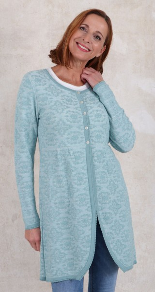 Himmelblau Long - Strickjacke