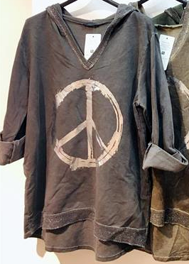 Damen Sweatshirt Peace