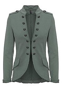 Damenblazer Military Look khaki